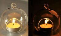 romantisch crystal glas hängen kerze inhaber kerzenständer hochzeit dekor heiß