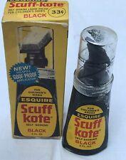 Esquire Scuff Kote Shoe Polish Bottle In Original Box