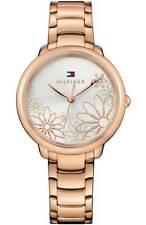 TOMMY HILFIGER 1781780 Rose Gold-Tone Stainless Steel 36mm Women's Watch*