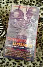 Marlon Riggs Tongues Untied VHS