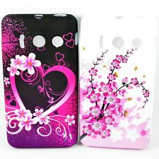 2X Women Soft Rubber TPU Silicone Cover Case For Huawei Ascend Y300 U8833 T8833