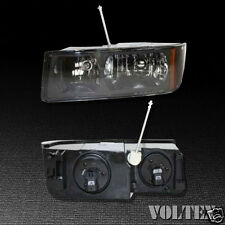 2002-2006 Chevrolet Avalanche 1500 2500 Headlight Lamp Clear lens Halogen Left