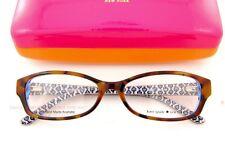 Brand New Kate Spade Eyeglass Frames SHEBA Color JZM TORTOISE ROYAL BLUE