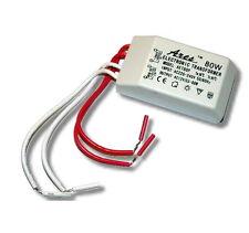 SMD LED Luz Halógena Transformador Controlador De Fuente De Alimentación 80W 12V para MR16 MR11-UK