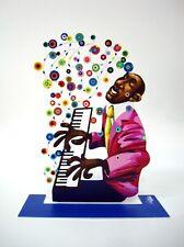 David Gerstein Metal Art - Piano Player - Jazz Club - Metal Modern Sculpture
