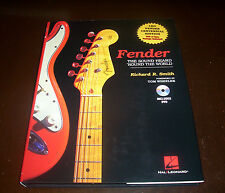 FENDER The Sound Heard Round the World Guitars Guitar Leo Fenders Book & DVD NEW