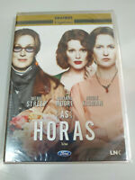 As Horas Meryl Streep Nicole Kidman - DVD REGION 2 Ingles Portugues Nuevo 2T