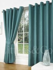Faux Silk Home Office/Study Curtains & Blinds