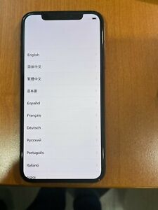 iPhone X 256GB Unlocked Space Gray w/Orig Box - BONUS Tzumi Charging Case