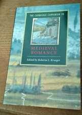 Cambridge Companion to Medieval Romance Ed Robert Krueger 15 Essays