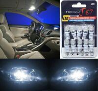 LED 5050 Light White 5000K 168 Ten Bulbs Interior Map Replacement Festoon Stock