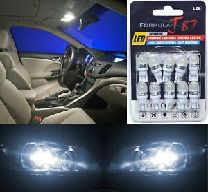 LED 5050 Light White 5000K 168 Ten Bulbs Interior Dome Replacement Upgrade Stock