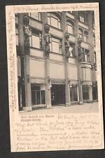 Germany 1902 Zum Roland von Berlin Strassen Unficht to Claudia Silver Hamburg