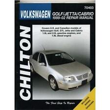 Chilton Repair Manual Volkswagen Golf & Jetta, 1999-05  #70403