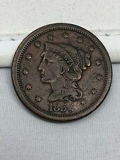 1856 Braided Hair Large Cent