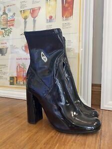 Tony Bianco Patent Boot Size 6