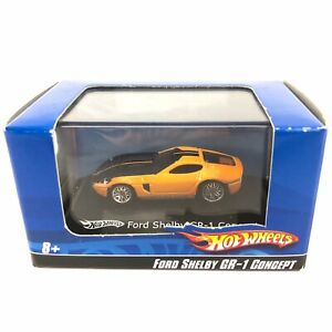 Hot Wheels Ford Shelby GR-1 Concept Car Orange Die Cast 1/87 HO Scale with Case