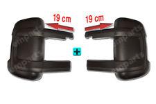 FIAT DUCATO PEUGEOT BOXER Door Mirror Casing Cover BLACK MEDIUM ARM O/S N/S 06>
