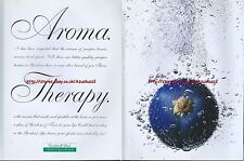 """Gordons Gin And Tonic """"Aroma Therapy"""" 1997 Magazine 2 Page Advert #4513"""
