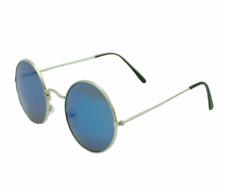 Lunettes de soleil Celine style ronde bleu miroir