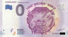0 Euro Schein - LEGOLAND Deutschland Resort 2019-3 null € souvenir