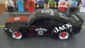 Custom 1:32 scale Jack Daniels Mazda RX-3 by Jada new & boxed diecast bundy car