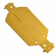04001 03601 Metal Chassis For HSP 1/10 RC  Buggy Truck Upgrade Parts Yellow
