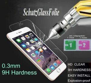💥2x SchutzGLAS FOLIE 💥für iPhone 5 / 5s/ 5c / SE 💥Echt Schutz Glas 9H Klar 💥