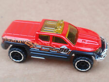 2014 Hot Wheels OFF-DUTY 140/250 Hot Trucks LOOSE Red