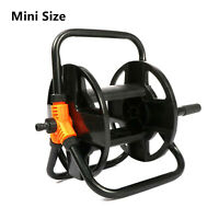 Water Pipe Hose Reel Cart Holder Rack Manual for Home Garden Cleaning Car Wash