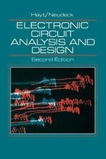 Electronic Circuit Analysis and Design by William H. Hayt and Gerold W....