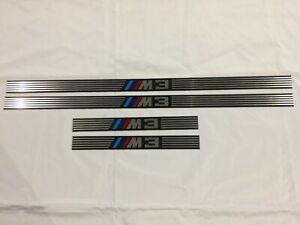 Car door sills thresholds BMW E36 m3 sedan