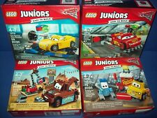 LEGO Disney CARS Juniors Lot 10730 10731 10732 10733 Mater McQueen Guido Cruz