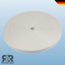50m Rolladengurt Rollladen Rolladen Gurtband MAXI 23mm Farbe grau Rolladenband