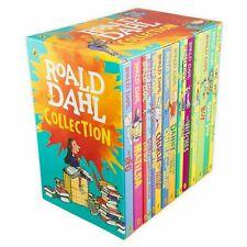ROALD DAHL Collection 16 Fantastic Stories Book New