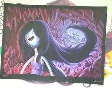 Jason Edmiston Cartoon Network Adventure Time Marceline Art Print Vampire Mondo