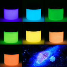 Glow in the Dark Paint, 7 Fluorescent Colors Available - Acrylic Glow Paint