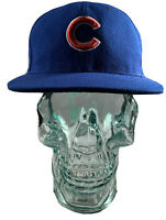 MLB Baseball New Era 59Fifty Chicago Cubs Blue Hat 6 7/8 Cap