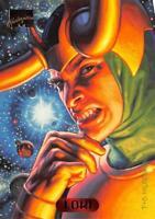 LOKI / 1994 Marvel Masterpieces (Fleer) BASE Trading Card #68