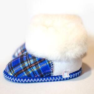 Kids Fur Slippers | 100% Natural Sheepskin | Baby Winter Socks Wool Boots