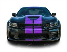 Fits 2015 2021 Dodge Charger Widebody Racing Stripes Decals Graphics Srt Hellcat