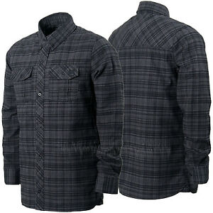 VOLCOM Mens 2016 Snowboard Black SIMONS INSULATED FLANNEL Layering JACKET