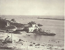 "NEWPORT BEACH Corona del Mar CHINA HOUSE Cove BALBOA BAY Print 1151 11"" X 14"""