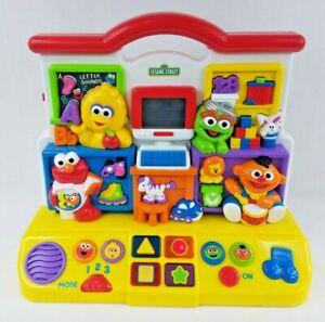 Sesame Street Electronic School Classroom Preschool Learning Toy Mattel 2000