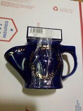 GEO F TRUMPER Oxford Blue Ceramic Shaving Mug and Shaving Soap Bundle, 50 g, NEW