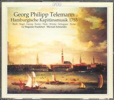 TELEMANN - Oratorio: Danket Dem Herrn / Serenata - Michael SCHNEIDER - CPO 2CDs