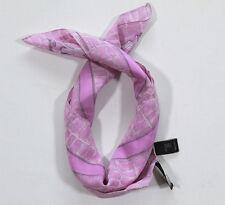 NUEVO GUESS Pañuelo para el cuello bufanda chal 100% SEDA 50cm x 50cm (35) #3456