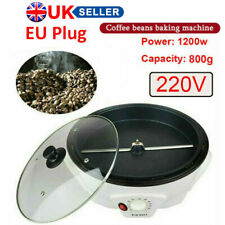 More details for 220v electric coffee bean roaster home coffee baking machine nuts roasting uk