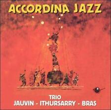 TRIO JAIVIN/FRANCIS JAUVIN - ACCORDINA JAZZ USED - VERY GOOD CD