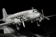 Airplane Model Douglas DC 3 Dakota Aviation Decor Desktop Aircraft Replica 38""
